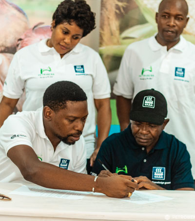 Signing With AgroDealers Morogoro